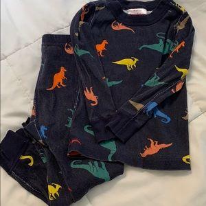 Hanna Andersson Long John Pajamas Dinosaurs 90 3